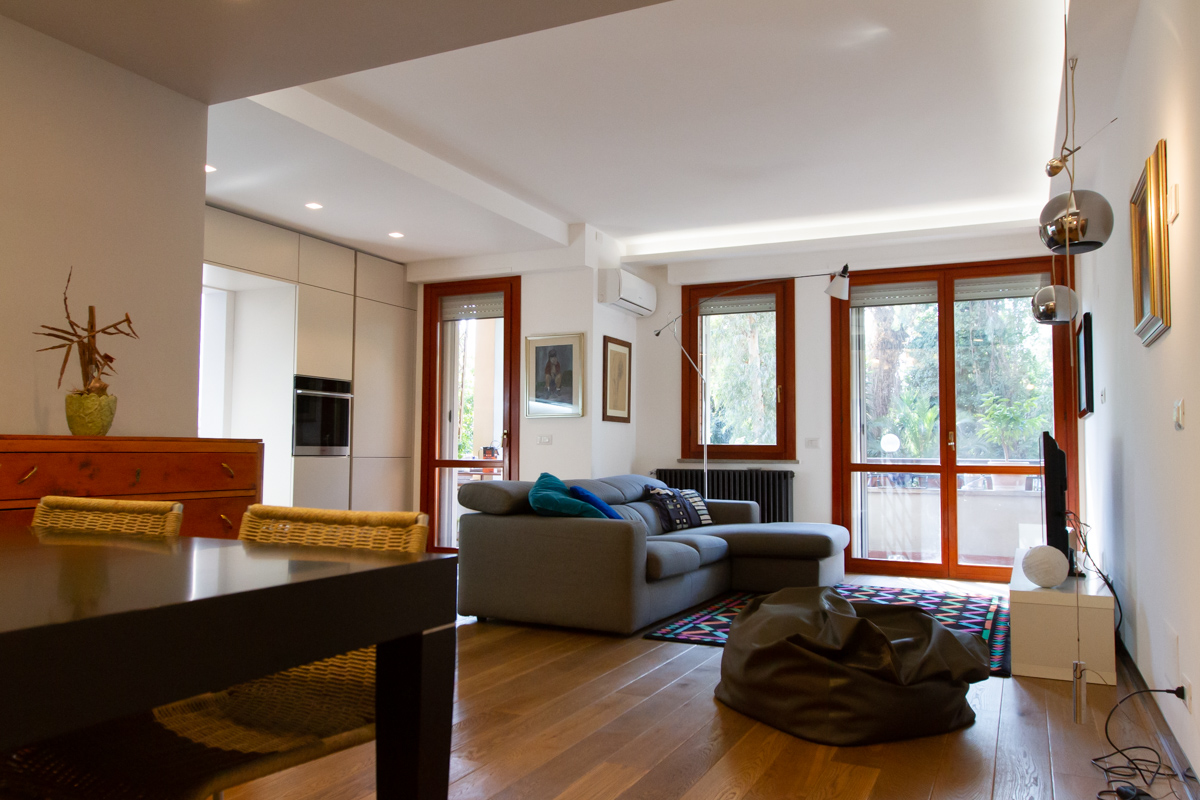 Ristrutturazione appartamento privato (Roma)
