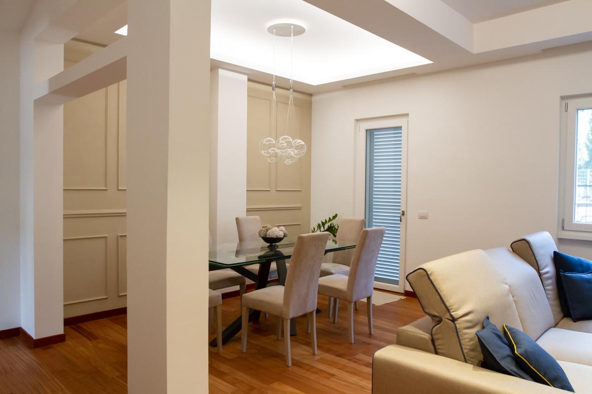 Ristrutturazione appartamento privato via Aurelia (Roma)